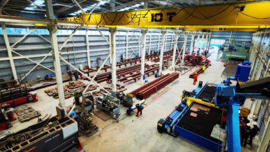 BCC Group LLC has opened a new fabrication plant